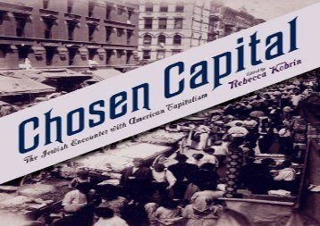 [PDF] Chosen Capital: The Jewish Encounter with American Capitalism Download by -