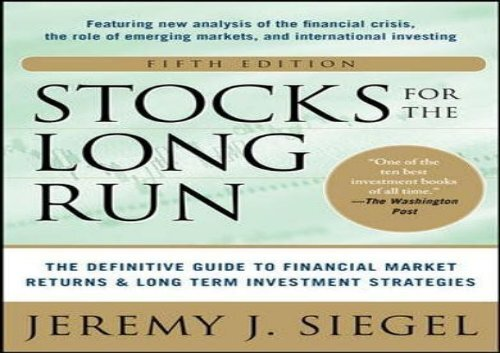 PDF] Stocks for the Long Run: The Definitive Guide to Financial