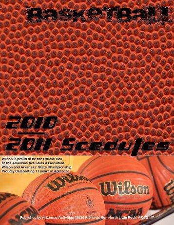 BASKETBALL SCHOOLS BY CONFERENCES - Arkansas Activities ...