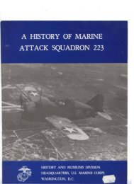 up A HISTORY OF MARINE ATTACK SQUADRON 223