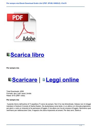 LIBRI EPUB GRATIS EPUB DOWNLOAD