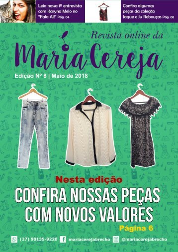 Revista Maria Cereja - Edição 008