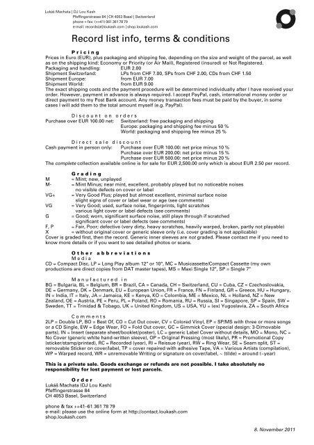 datovania stránky pre 7. zrovnávače