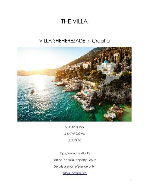 Villa Sheherezade - Croatia