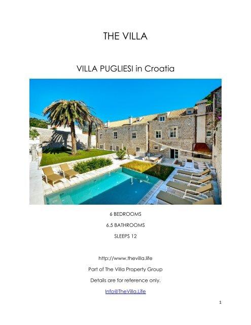 Villa Pugliesi - Croatia