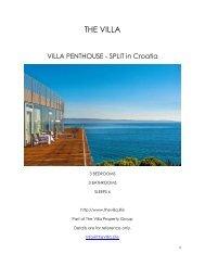 Villa Penthouse - Split - Croatia