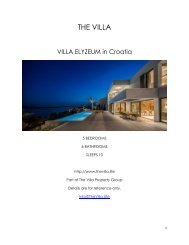 Villa Elyzeum - Croatia