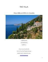 Villa Bellavista - Croatia