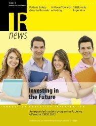 IR news | 01 | 2012 - CIRSE.org