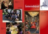 Juni Gemeindebrief Internet - Evangelische Kirchengemeinde ...