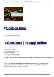 Gratis Scarica Il Bosco (I classici di Tony Wolf) PDf/Epub Gratis -Essa340