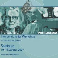 Programm - olbert-workshop