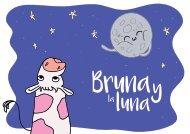 Bruna y la luna - Ilustración infantil