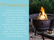 Outdoor Fire Pit Bowl