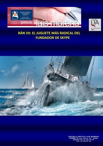 RÁN VII EL JUGUETE MÁS RADICAL DEL FUNDADOR DE SKYPE - Nauta360