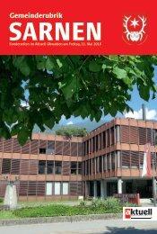 Gemeinde Sarnen 2018-19