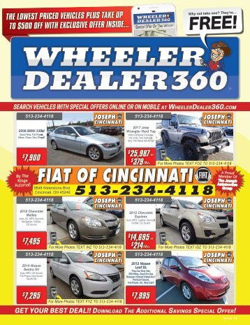 Wheeler Dealer 360 Issue 19, 2018