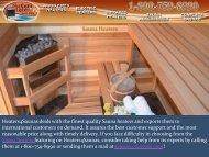 Best Quality Sauna Heaters