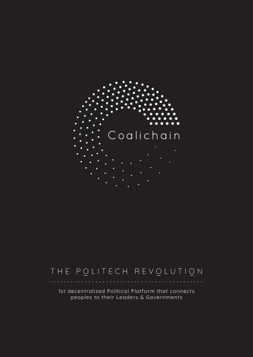 Coalichain digital voting use of blockchain technology.