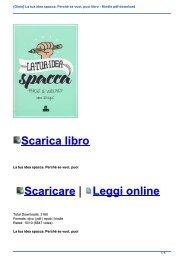 {Gioia} La tua idea spacca. Perché se vuoi, puoi libro - Kindle pdf download