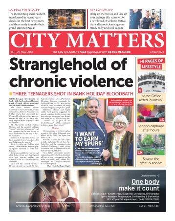 City Matters 073