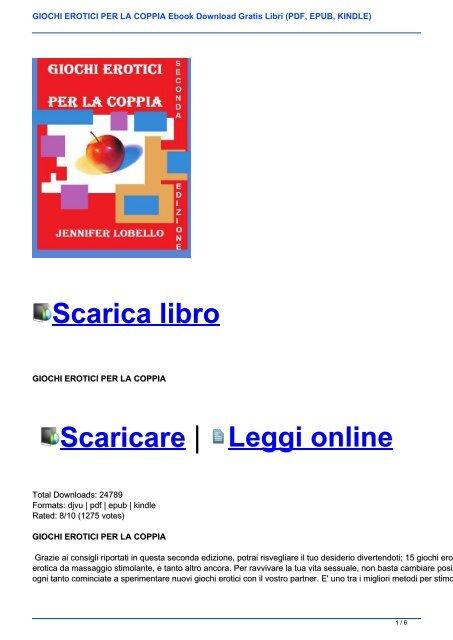sessualità di coppia ebook gratis italiano