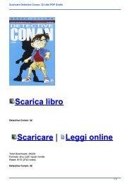 Scaricare Detective Conan: 32 Libri PDF Gratis