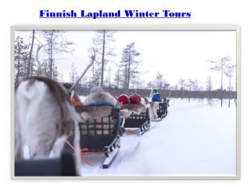 Finnish Lapland Winter Tours