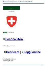 Download Svizzera (Si governano così) PDF mobi epub Sergio Gerotto