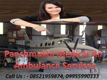Panchmukhi Medical Support Air Ambulance Service in Ranchi and Jamshedpur