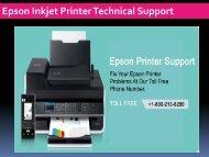 Epson Inkjet Printer Technical Support