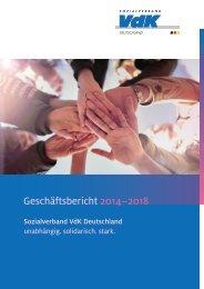 VdK-Geschäftsbericht 2014 - 2018
