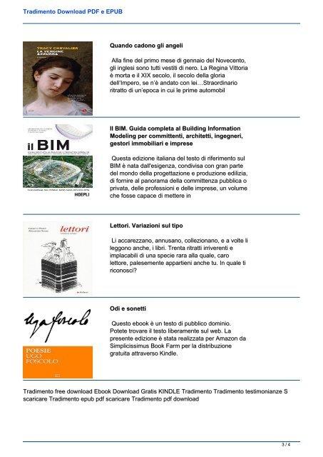 Tradimento Download PDF e EPUB