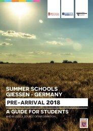 SummerSchools PreArrival 2018
