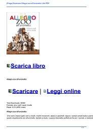 (Prego) Scaricare Allegro zoo all\'uncinetto Libri PDF