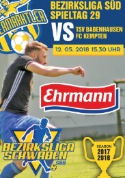 20180512 Fuggermärktler TSV 1862 Babenhausen – FC Kempten