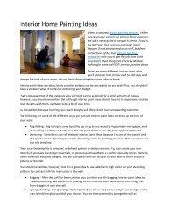Interior Home Painting Ideas