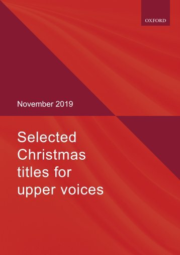 Xmas upper voices selection