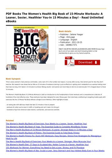 The-Women's-Health-Big-Book-of
