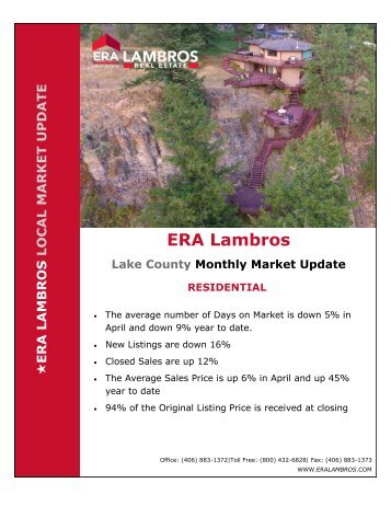 Lake County Residential Update - April 2018