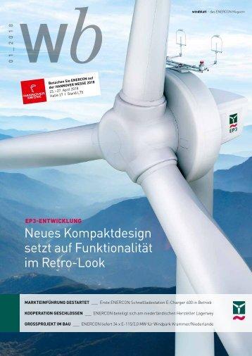Enercon Windblatt 1/2018
