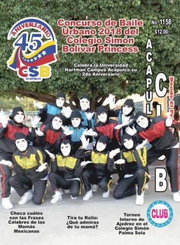 Revista Acapulco Club 1158