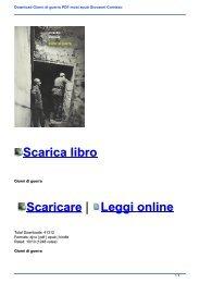 Download Giorni di guerra PDF mobi epub Giovanni Comisso