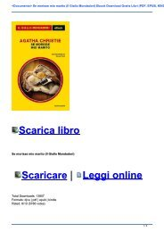 <Documento> Se morisse mio marito (Il Giallo Mondadori) Ebook Download Gratis Libri (PDF, EPUB, KINDLE)