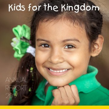 Kids for the Kingdom Annual Report 2017