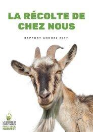 Rapport Annuel 2017 - La Récolte de Chez Nous