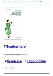 {Buonasera} Scaricare L\'assertività: espressione di una sana stima di sé Libri PDF