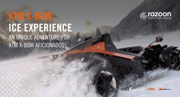 KTM X-BOW ICE EXPERIENCE - razoon - more than racing