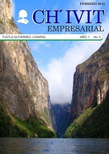 Revista Ch´ivit Empresarial febrero 2015