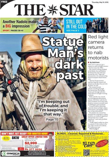 The Star: May 10, 2018